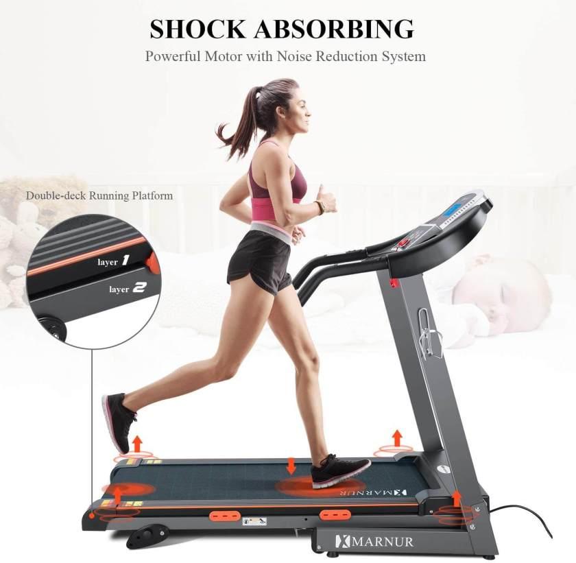 MARNUR Treadmill Electric Folding Treadmills