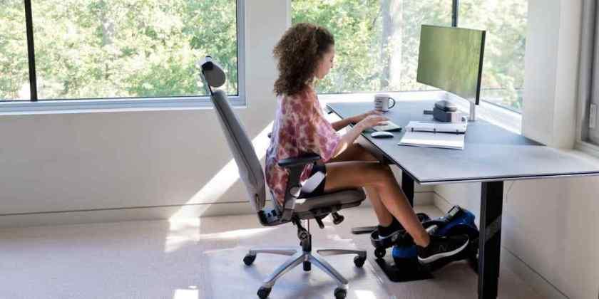LifePro FlexStride Under Desk Elliptical Trainer