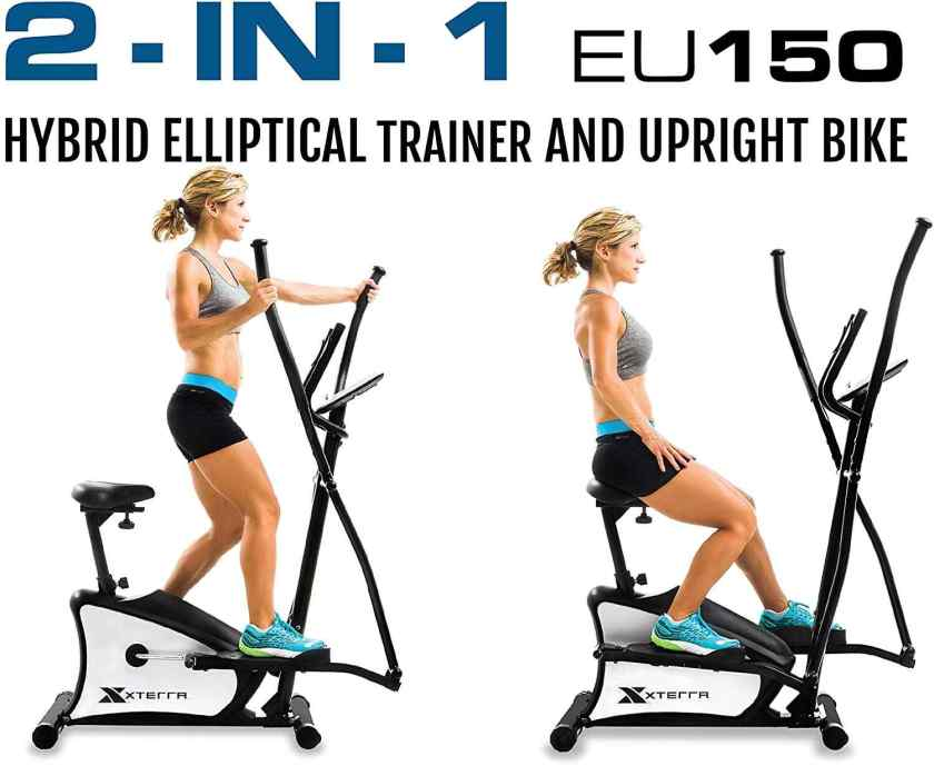 XTERRA Fitness EU150 Hybrid Elliptical Upright Bike