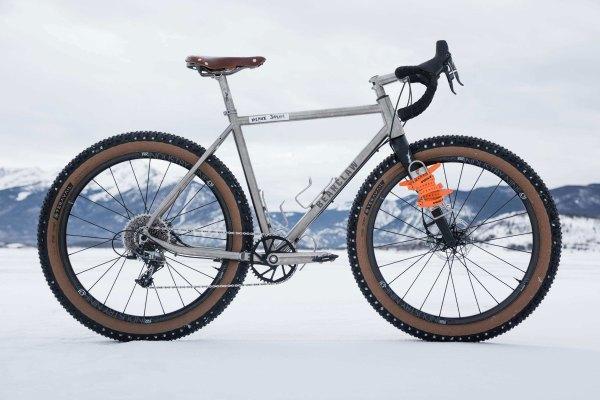 "Bearclaw Beaux Jaxon ""Titanium Gravel Plus Bike ..."