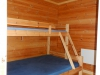 Namsos Camping Hütte Schlafzimmer