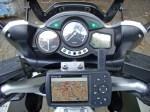 Garmin GPSmap278 auf Yamaha Träger an einer FJR1300 classic