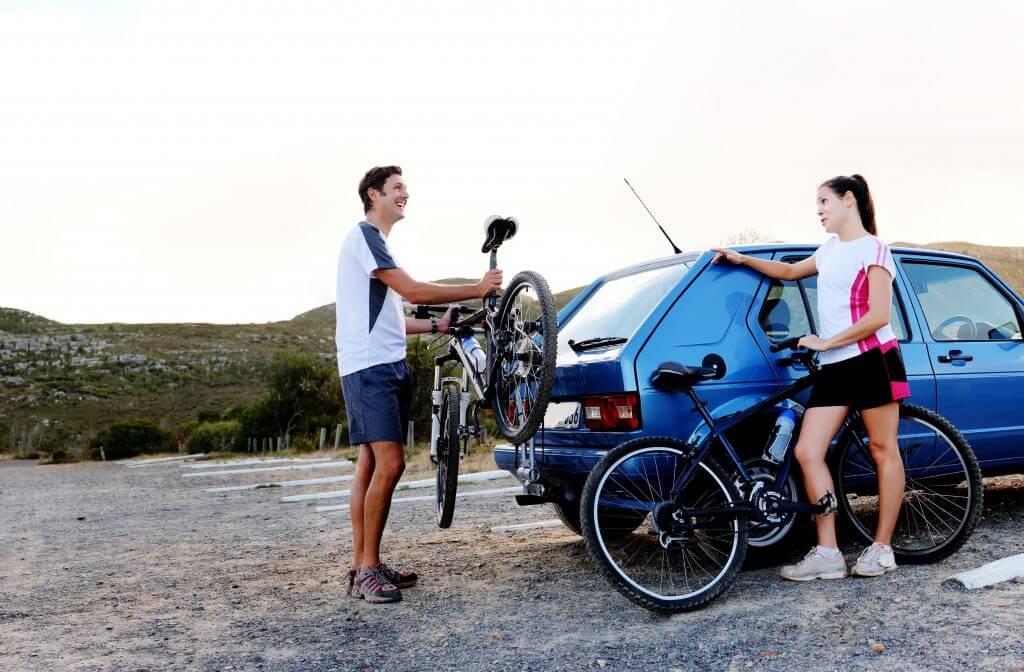 Carry bike on car