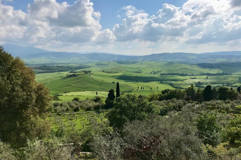Why coming to cycling in Tuscany