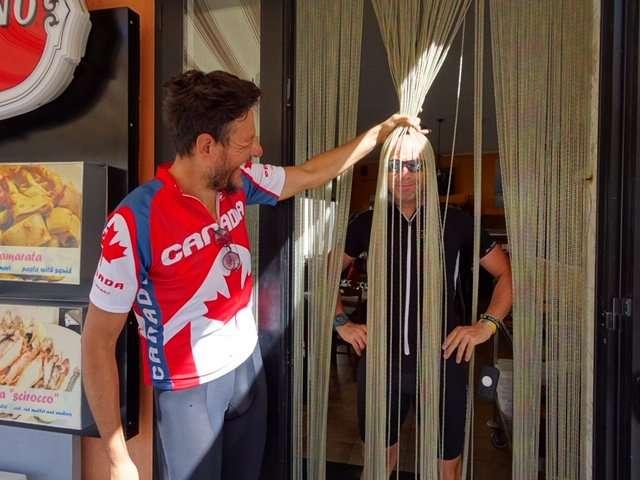 Bikeridingtuscany Gigi with long blond hair
