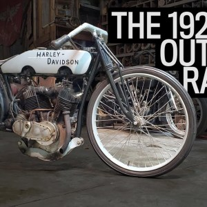 Harley's Outlaw Racer