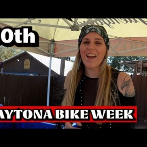 80th DAYTONA BIKE RALLY / PARTY AT IRON HORSE SALOON / DAVID ALLEN COE / BIKES / GIRLS