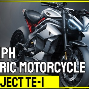 Triumph electric motorcycle project TE-1 | MOTORCYCLES.NEWS