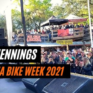 Whey Jennings At World Famous Iron Horse Saloon Daytona Bike week!