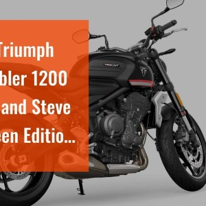 2022 Triumph Scrambler 1200 XC/XE and Steve McQueen Edition First Look