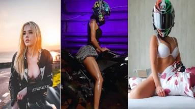 GIRL BIKERS ARE AWESOME ❤️ Hottest Biker Girl 😍 Instagram Bikers, Sexiest Bikers