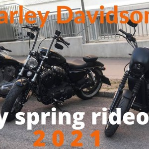 Harley Davidson Rideout early spring 2021  Austria, Europe