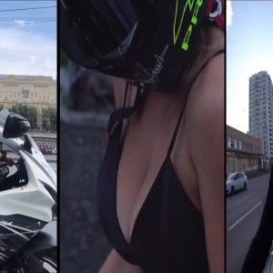 GIRL BIKERS ARE AWESOME ❤️ Hottest Biker, Biker Chicks, Moto Girls, Instagram Biker 😳 8 min version