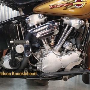 Motor Monday - 1936 Harley-Davidson El Knucklehead