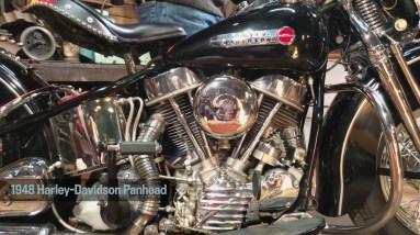 Motor Monday - The 2021 Raffle Bike | 1948 Harley-Davidson Panhead