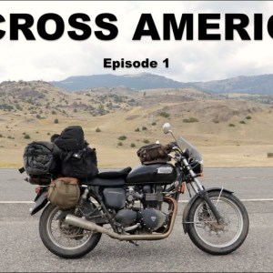 Motorcycling Across America (US) - EP1 - NY to WA