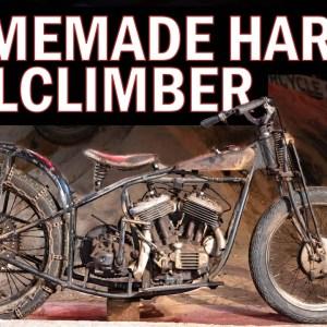Homebrew Harley Hillclimber