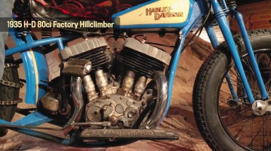 Motor Monday - 1935 HD 80 ci Factory Hillclimber