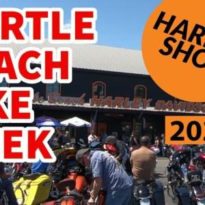 MYRTLE BEACH SPRING BIKE WEEK AT THE HARLEY SHOP | SPRING RALLY 2021