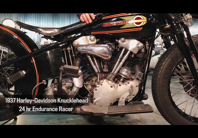 Motor Monday - 1937 Harley-Davidson Knucklehead