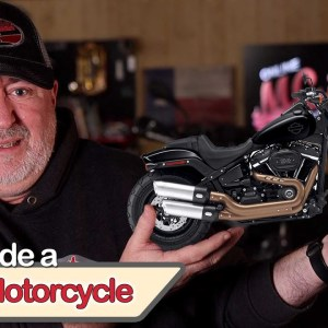 How to ride a heavy motorcycle