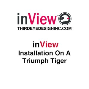 Installation of inView on a Triumph Tiger.