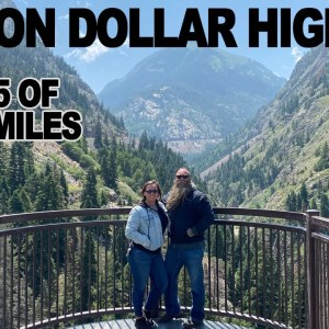 Million Dollar Highway on a Motorcycle Long Distance Riding Trip to Sturgis 2021 81st Bike Rally
