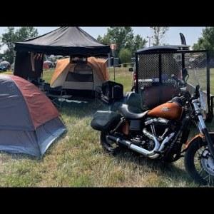 Camping at Sturgis Buffalo Chip 2021