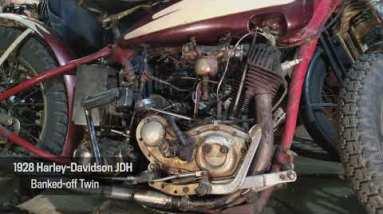 Motor Monday - 1928 Harley-Davidson JDH Banked-Off Twin