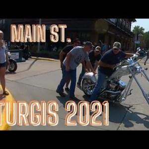 Sturgis 2021 Main St/Cross Roads