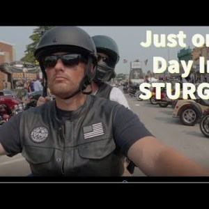 The Sturgis Motorcycle Rally.  This is why you go to Sturgis.