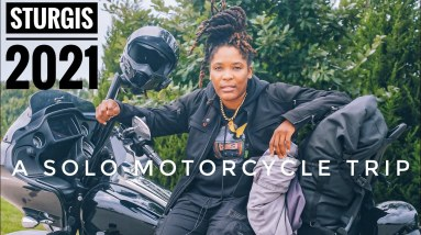 Road Trip To Sturgis 2021... Alone 😳 My First Time Going (Motorcycle Vlog)
