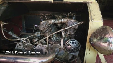 1925 HD Powered Runabout