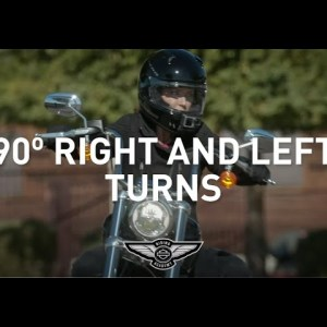 How-To: Right & Left Turns | Harley-Davidson Riding Academy