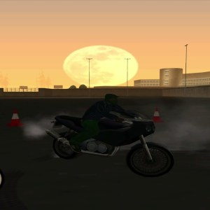 GTA San Andrea Motorcycle School All Gold Medals Unedited Fails Included 4K
