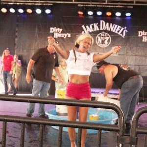 Biketoberfest 2021 Wet T-shirt Contest at Dirty Harry's