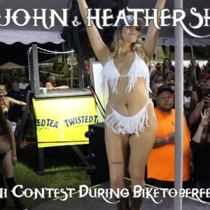 Bikini Contest During Biketoberfest 2021