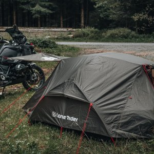 Minimalist Motorcycle Rider? Check out this TENT!