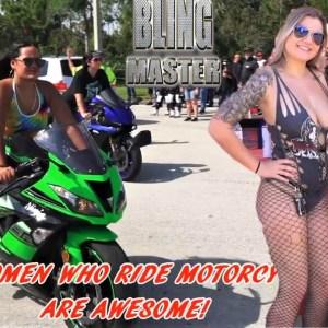 Women Who Ride Motorcycles 2021, Harley-Davidson, Hayabusa, Bike Week, Boss Hoss & More, Redo!