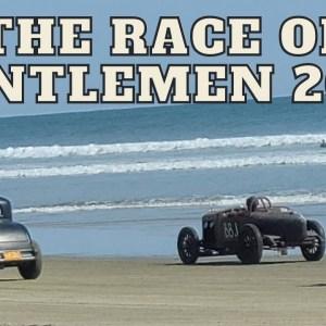 The Race of Gentlemen 2021 - Racing Harley Davidson Motorcycles on the Beach!!