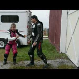 Two Motorcycle Rider Air Safety Systems Demonstrated