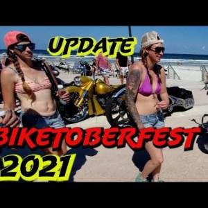 UPDATE BIKETOBERFEST FRIDAY / BIKE SHOW / MAIN STREET DAYTONA  4K