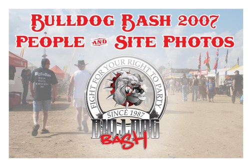 Bulldog Bash 2007 Site Photos