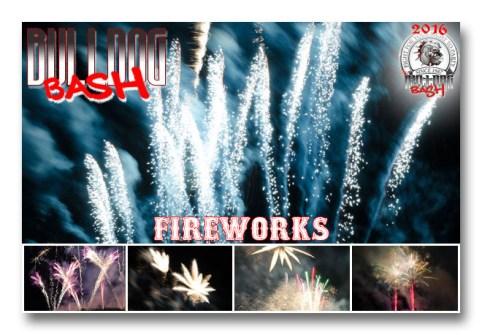 Bulldog Bash 2016 fireworks