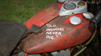 Old Indians never die