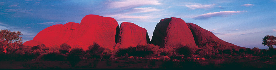 The Olgas Cross-Continent Australian outback guided motorcycle adventure