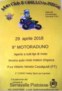 9° raduno Grillo in Piega - Casalguidi 29 aprile