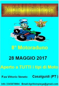 8° raduno Grillo in Piega  Casalguidi - 28 maggio