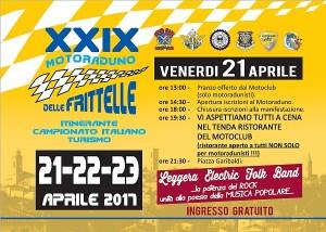 29° Raduno delle Frittelle - Castel del Piano 22-23 aprile 2017