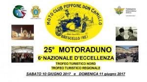 """25° raduno """"Beppone e Don Camillo"""" - Brescello (RE)  11 giugno"""